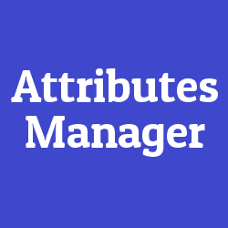 Attributes Manager